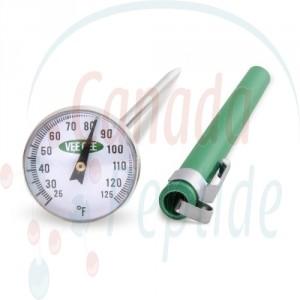 "Dial Thermometer, 1""Diameter"