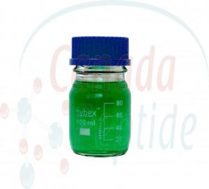 Hybex™ 100mL Glass Media Storage Bottle