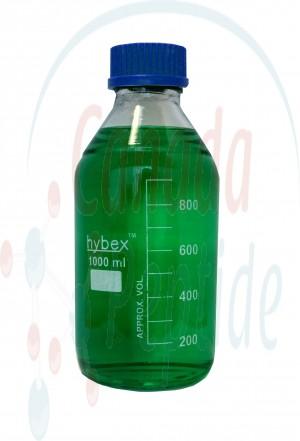 Hybex™ 1000mL Glass Media Storage Bottle