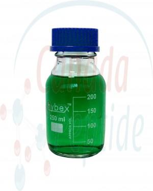 Hybex™ 250mL Glass Media Storage Bottle