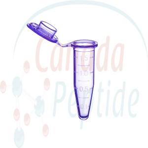 Sterile Microtube w/ cap, 1.5ml, w/ self-standing bag & Stop-Pops Purple
